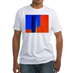 Support Pole Fitted T-Shirt