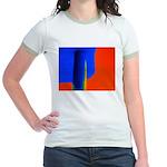 Support Pole Jr. Ringer T-Shirt