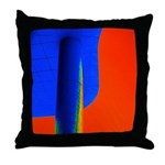 Support Pole Throw Pillow