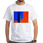 Support Pole White T-Shirt
