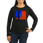Support Pole Women's Long Sleeve Dark T-Shirt