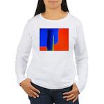 Support Pole Women's Long Sleeve T-Shirt