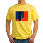 Support Pole Yellow T-Shirt
