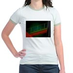 Bridge to Nowhere Jr. Ringer T-Shirt