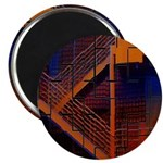 """Switchback Mountain 2.25"""" Magnet (10 pack)"""