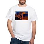 Switchback Mountain White T-Shirt