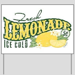 lemonade yard signs cafepress
