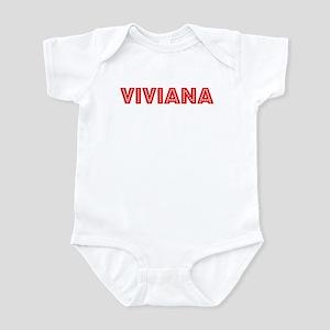 Retro Viviana (Red) Infant Bodysuit