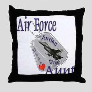 Amanda's Custom Order Ver. 2 Throw Pillow