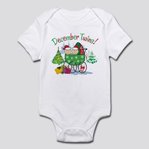 DECEMBER TWINS! Infant Bodysuit