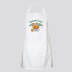 SEPTEMBER TWINS! BBQ Apron