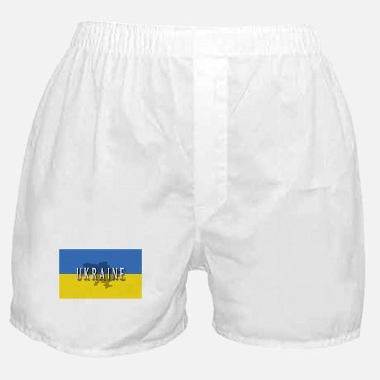 Ukraine Flag Extra Boxer Shorts