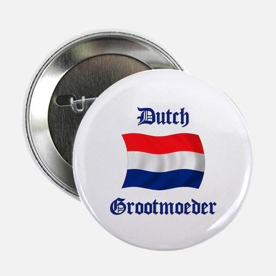 """Dutch Grootmoeder 2.25"""" Button"""