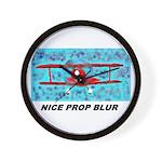Wall Clock - Prop Blurr