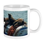 Seals over a Barrel Mug