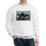 Seals over a Barrel Sweatshirt