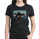 Seals over a Barrel Women's Dark T-Shirt
