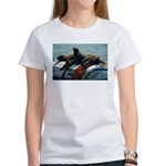 Seals over a Barrel Women's T-Shirt