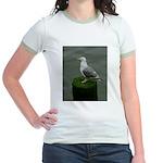 Bird on a Pole Jr. Ringer T-Shirt