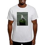 Bird on a Pole Light T-Shirt