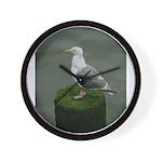 Bird on a Pole Wall Clock