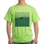 Flying Bird Green T-Shirt