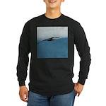 Flying Bird Long Sleeve Dark T-Shirt