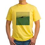 Flying Bird Yellow T-Shirt
