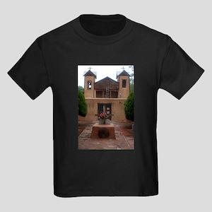 El Santuario de Chimayo Kids Dark T-Shirt