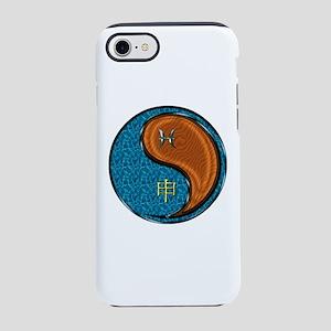 Pisces & Wood Monkey iPhone 8/7 Tough Case