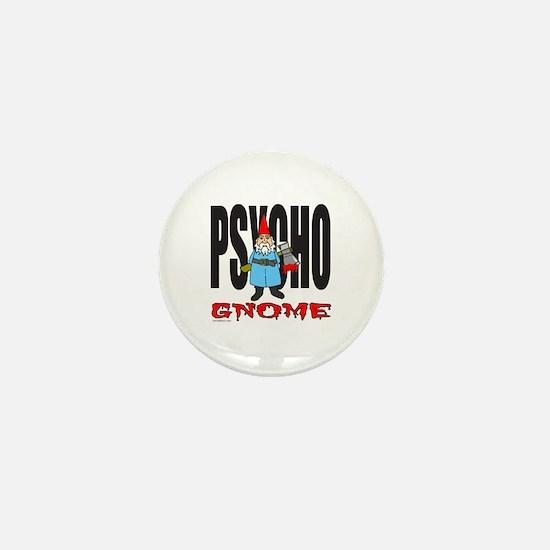 PSYCHO GNOME Mini Button