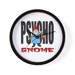 PSYCHO GNOME Wall Clock