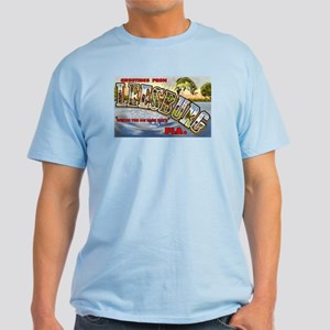 Leesburg Florida Greetings Light T-Shirt