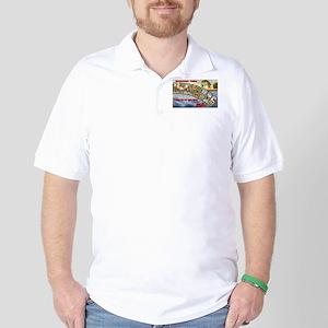 Leesburg Florida Greetings Golf Shirt