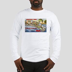 Leesburg Florida Greetings Long Sleeve T-Shirt