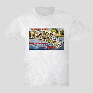 Leesburg Florida Greetings Kids Light T-Shirt