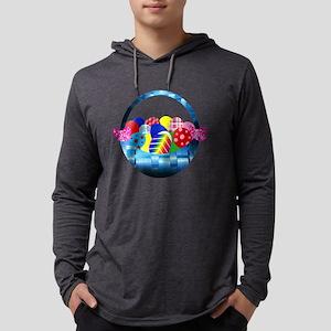 Assorted Rainbow Easter Eggs i Long Sleeve T-Shirt