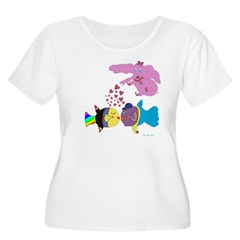 Love In Bloom Plus Size T-Shirt