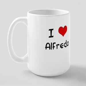 I LOVE ALFREDO Large Mug