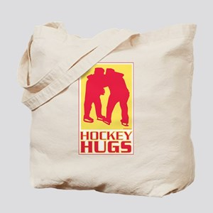 hockey hugs Tote Bag