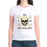 The RUM is gone Jr. Ringer T-Shirt