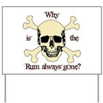 The RUM is gone Yard Sign
