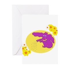 Time To Water Greeting Cards