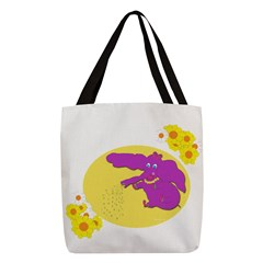 Time To Water Polyester Tote Bag