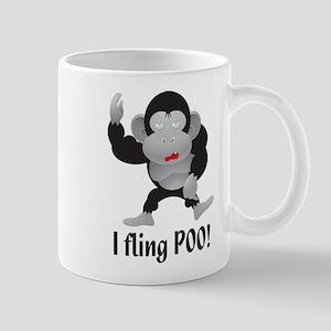 I fling POO! Mug
