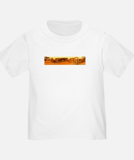 Disc Golf Tennessee Toddler Tee (white)