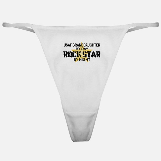 USAF Grnddghtr Rock Star by Night Classic Thong