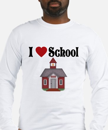 Cute I heart schoolhouse rock Long Sleeve T-Shirt