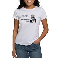 Robert Frost Quote 13 Women's T-Shirt