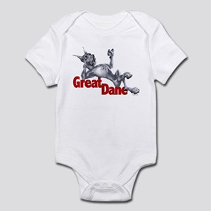 Great Dane Blue LB Infant Bodysuit
